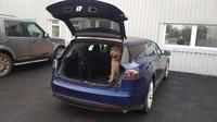 Vůbec první vyrobená Tesla Model S kombi