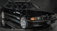 BMW 750iL, ve kterém byl zastřelen Tupac Shakur