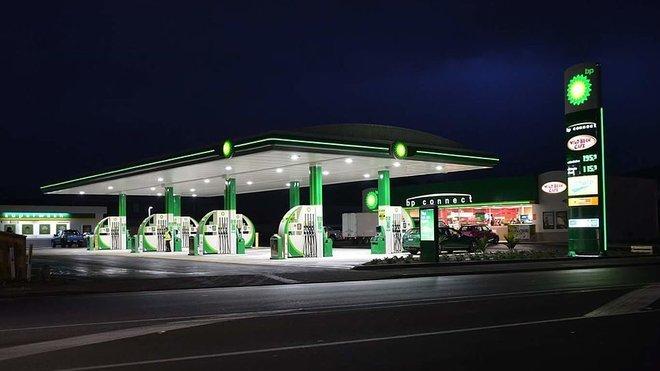Čerpací stanice BP (zdroj: Pcmanrules)