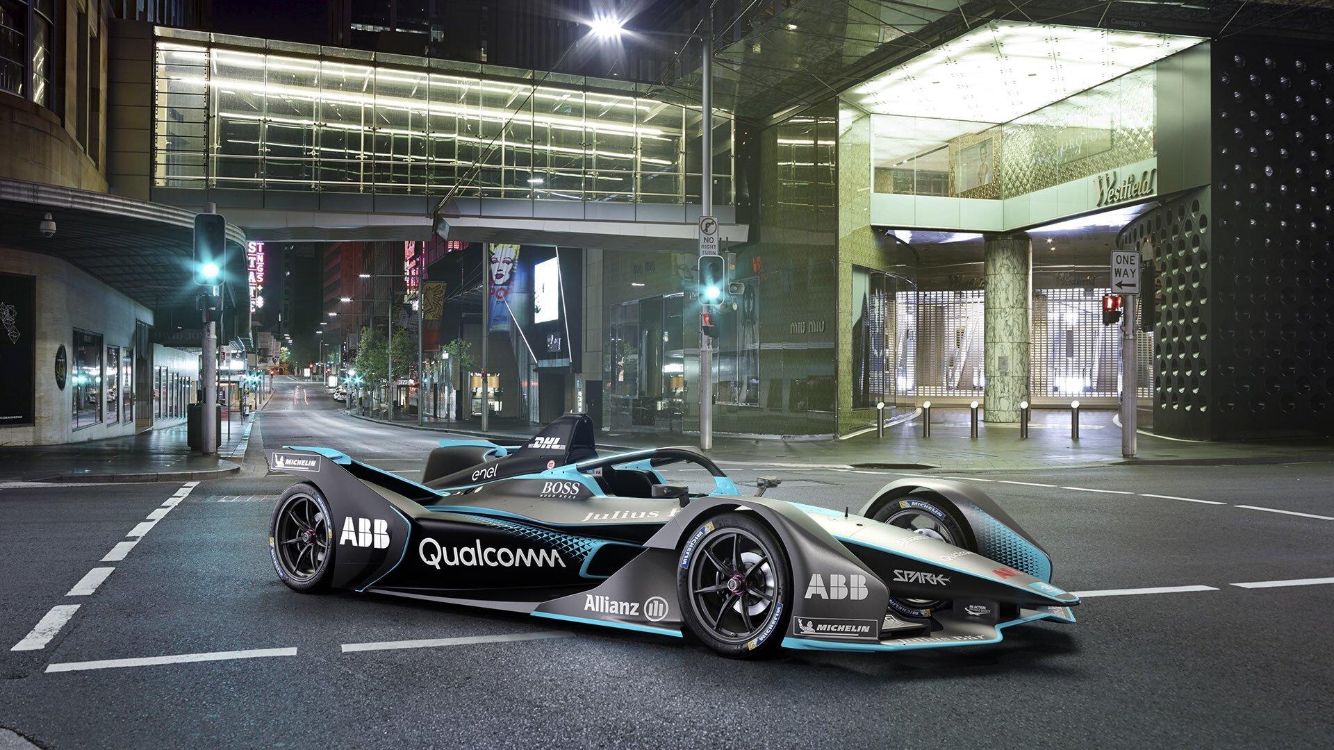 Nový vůz Formule E