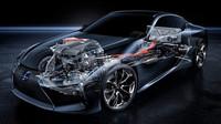 Hybridní pohon modelu Lexus LC 500h