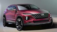 Kresby nového Hyundai Santa Fe