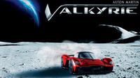 Jedinečný Aston Martin Valkyrie dostane lak s obsahem měsíčního prachu