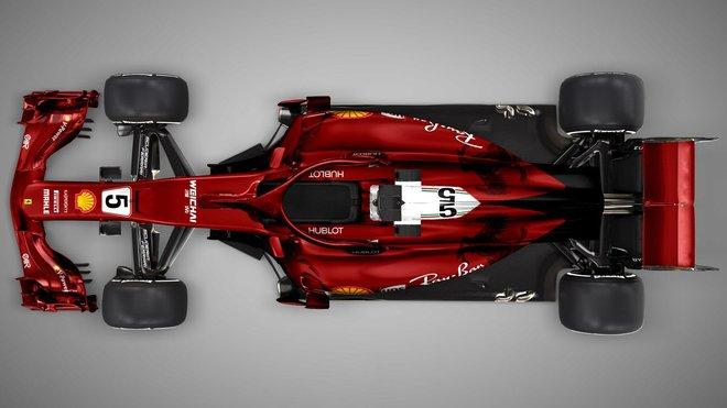 Neoficiální grafický návrh nového Ferrari
