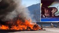 Moderátoři Top Gearu museli utíkat před plameny z hořícího Alpine A110
