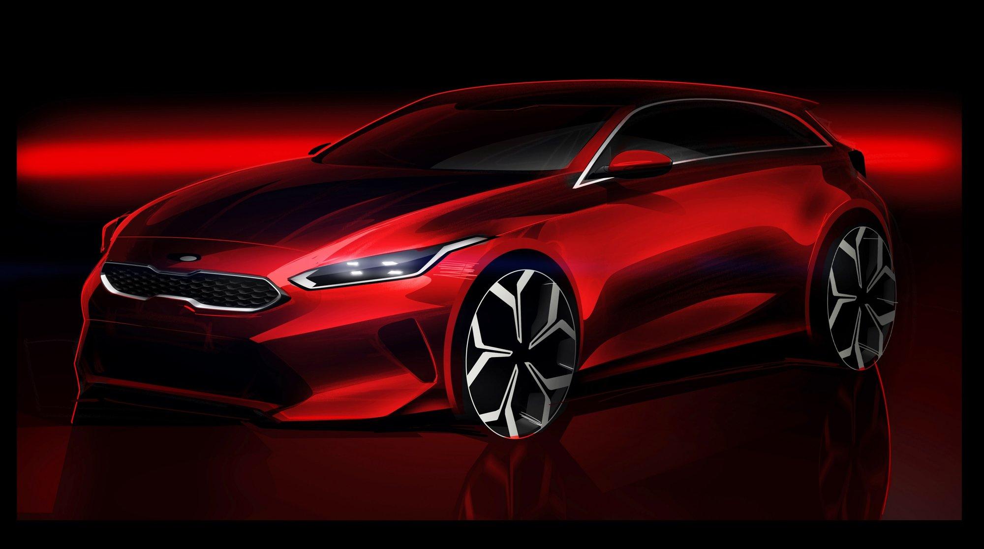 Nová generace modelu Kia Cee'd na prvním snímku