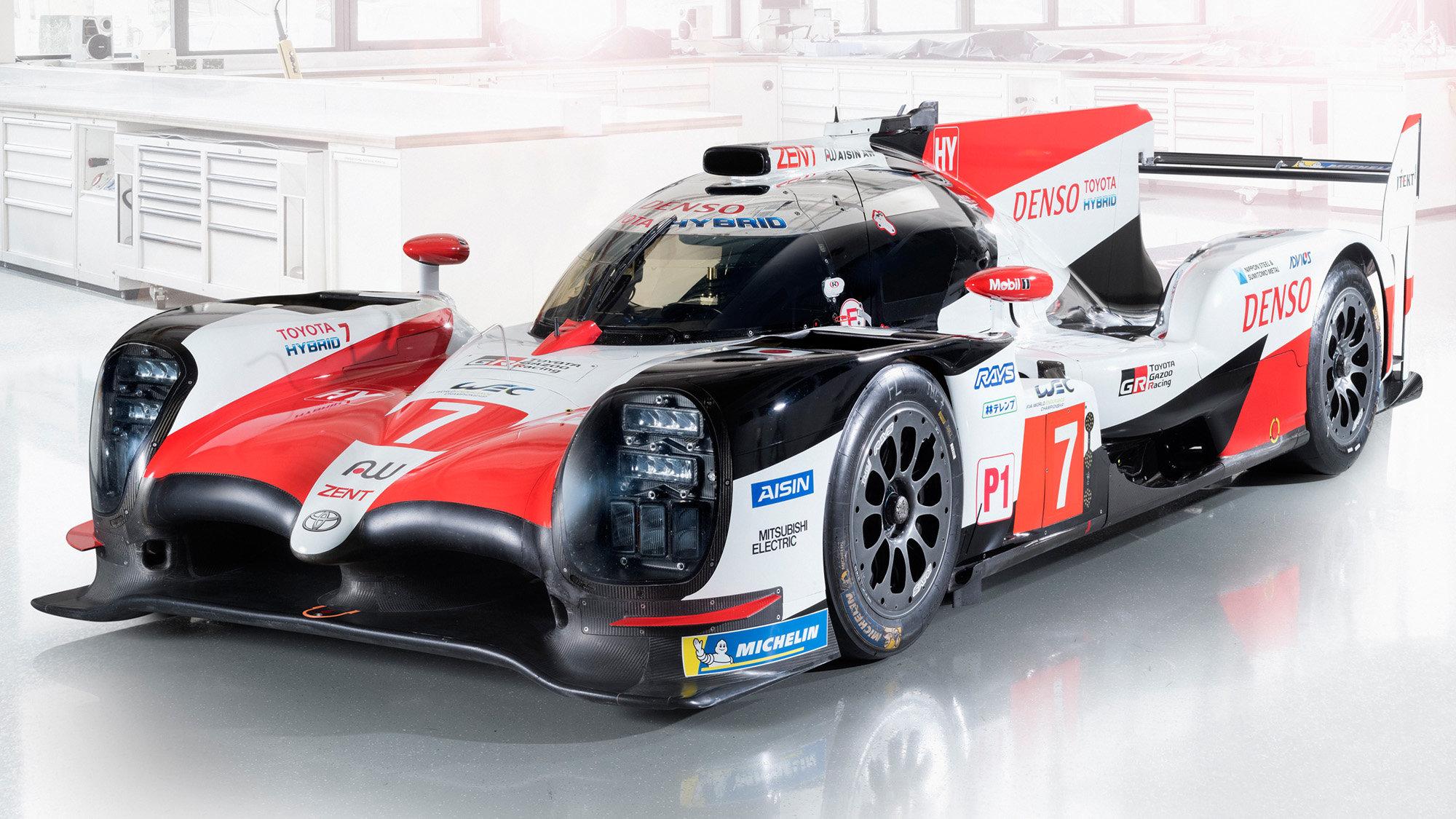 Toyota TS050 Hybrid pro vytrvalostní šampionát (WEC) 2018