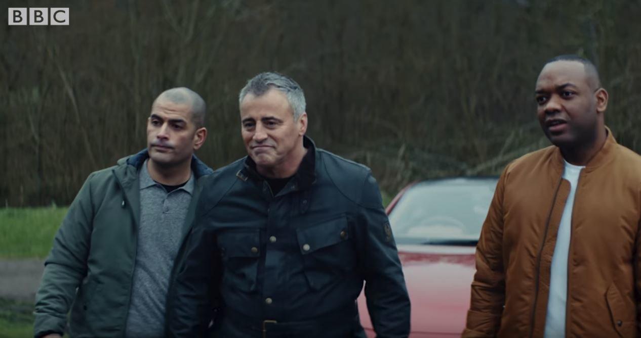 Záběry z traileru k 25. sérii pořadu Top Gear