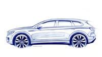 ŽIVĚ: Představení nového VW Touareg na autosalonu v Pekingu - anotační foto