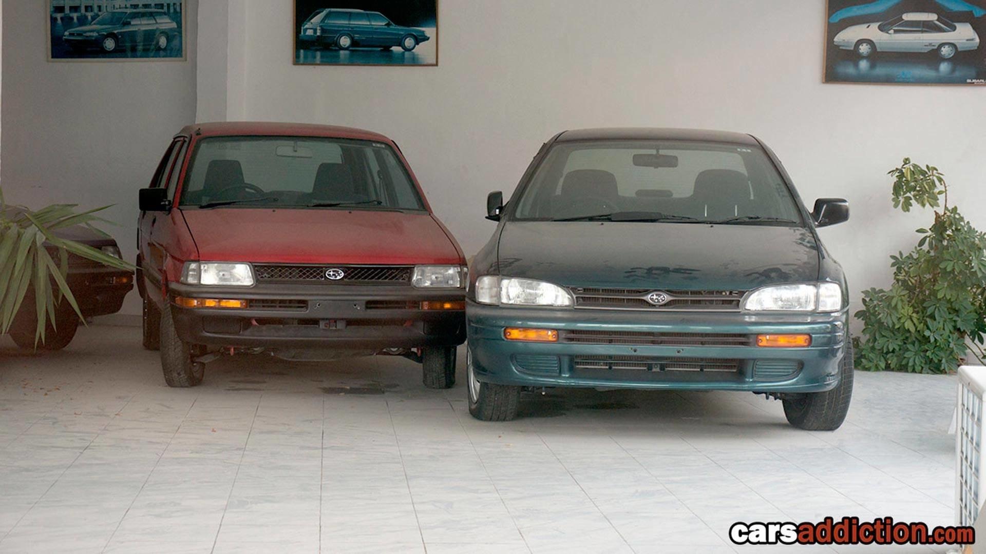Fotografie z roky opuštěného dealerství Subaru na Maltě