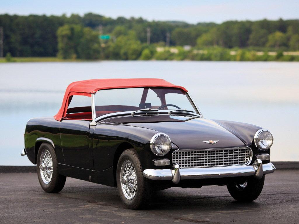 Austin-Healey Sprite MkII vyráběný mezi lety 1961 - 1964