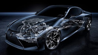 Pohonné ústrojí Lexusu LC