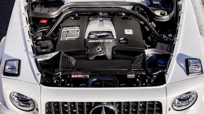Ilustrační foto (Nový Mercedes-AMG G63)