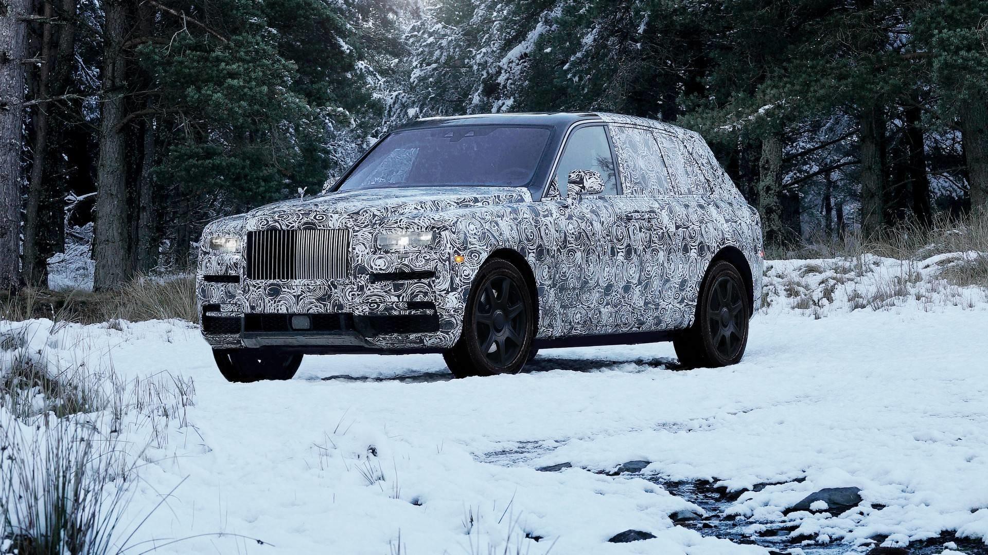 Konec spekulacím! Nejluxusnější SUV světa opravdu ponese jméno Rolls-Royce  Cullinan  385b07653a