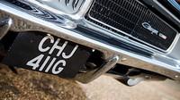 Dodge Charger z roku 1969 ve speciální edici Bullit, který kdysi dostal Bruce Willis od své ženy Demi Moore