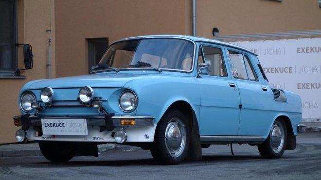 V nabídce Exekutorského úřadu Přerov se objevila i překvapivě zachovalá  Škoda 110 L e891290e46