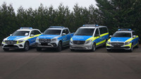 Policejní speciály Mercedes-Benz