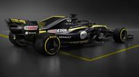 Renault včera nezveřejnil snímky celého vozu - tento je z předloňské prezentace RS18