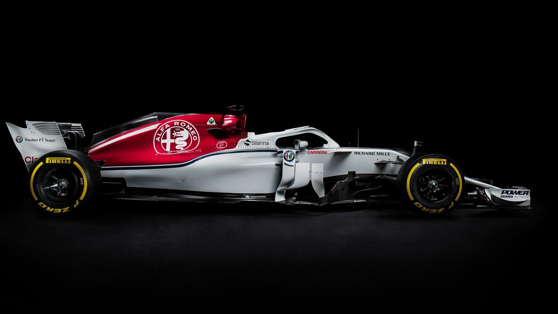 Nový vůz Sauber C37- Ferrari