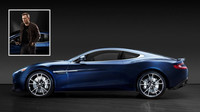 Daniel Craig prodává svůj jedinečný Aston Martin Vanquish z edice Centenary