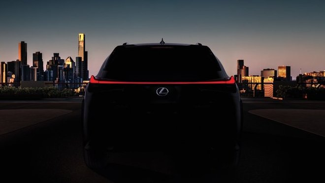 Lexus představí ve světové premiéře svůj nový crossover UX