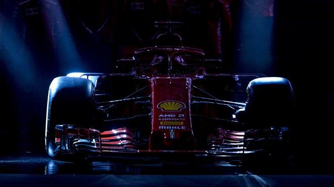 Představení nového Ferrari