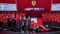 Představení nového vozu Ferrari SF71H