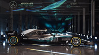 Mercedes předvádí nástupce mistrovského vozu: nový W09 + FOTO - anotační foto