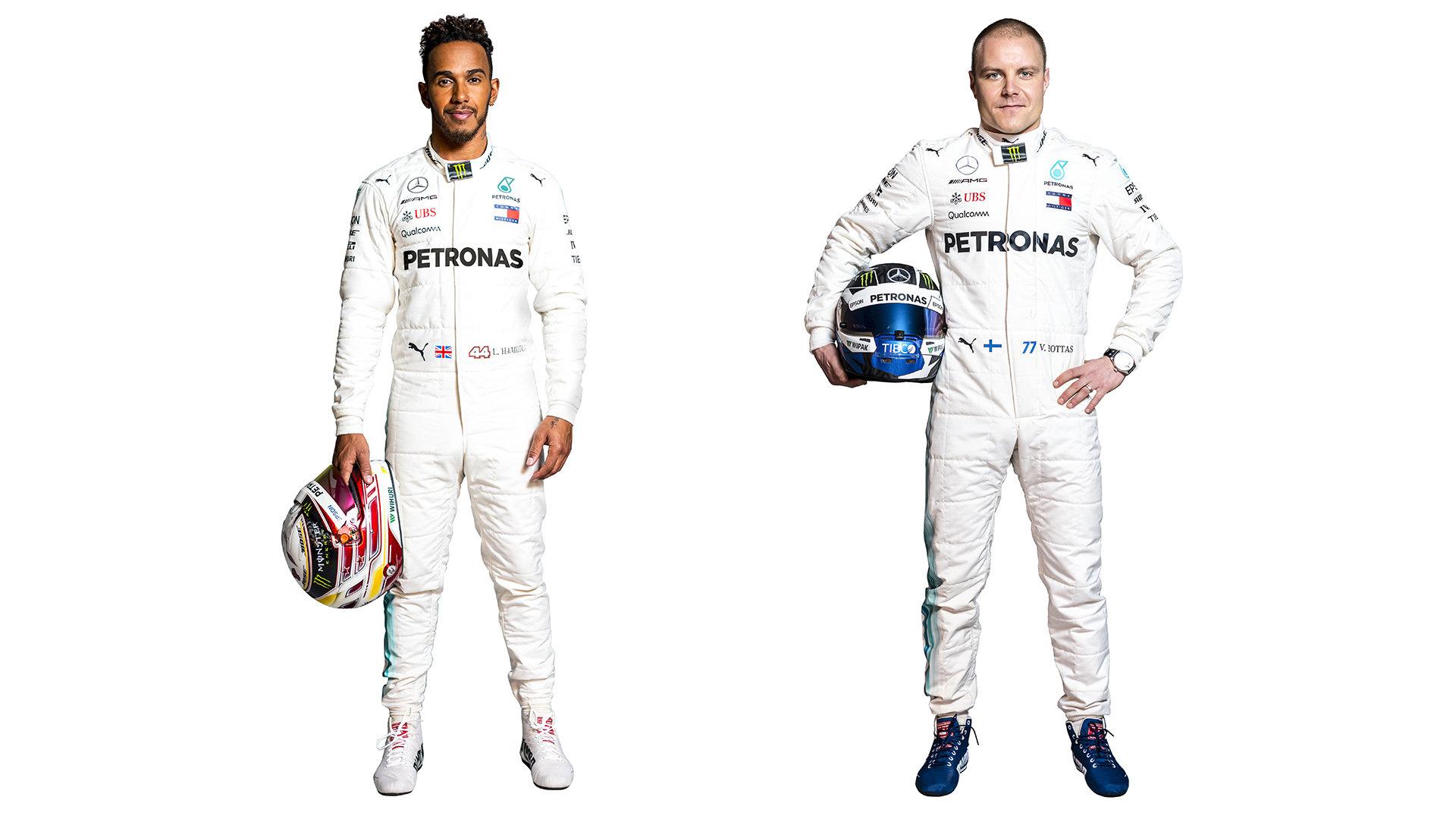 Lewis Hamilton a Valtteri Bottas pro sezónu 2018