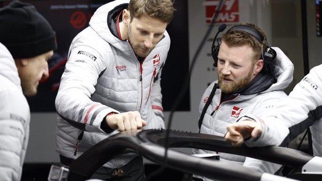 Romain Grosjean svůj přístup k Halo pochopitelně změnil