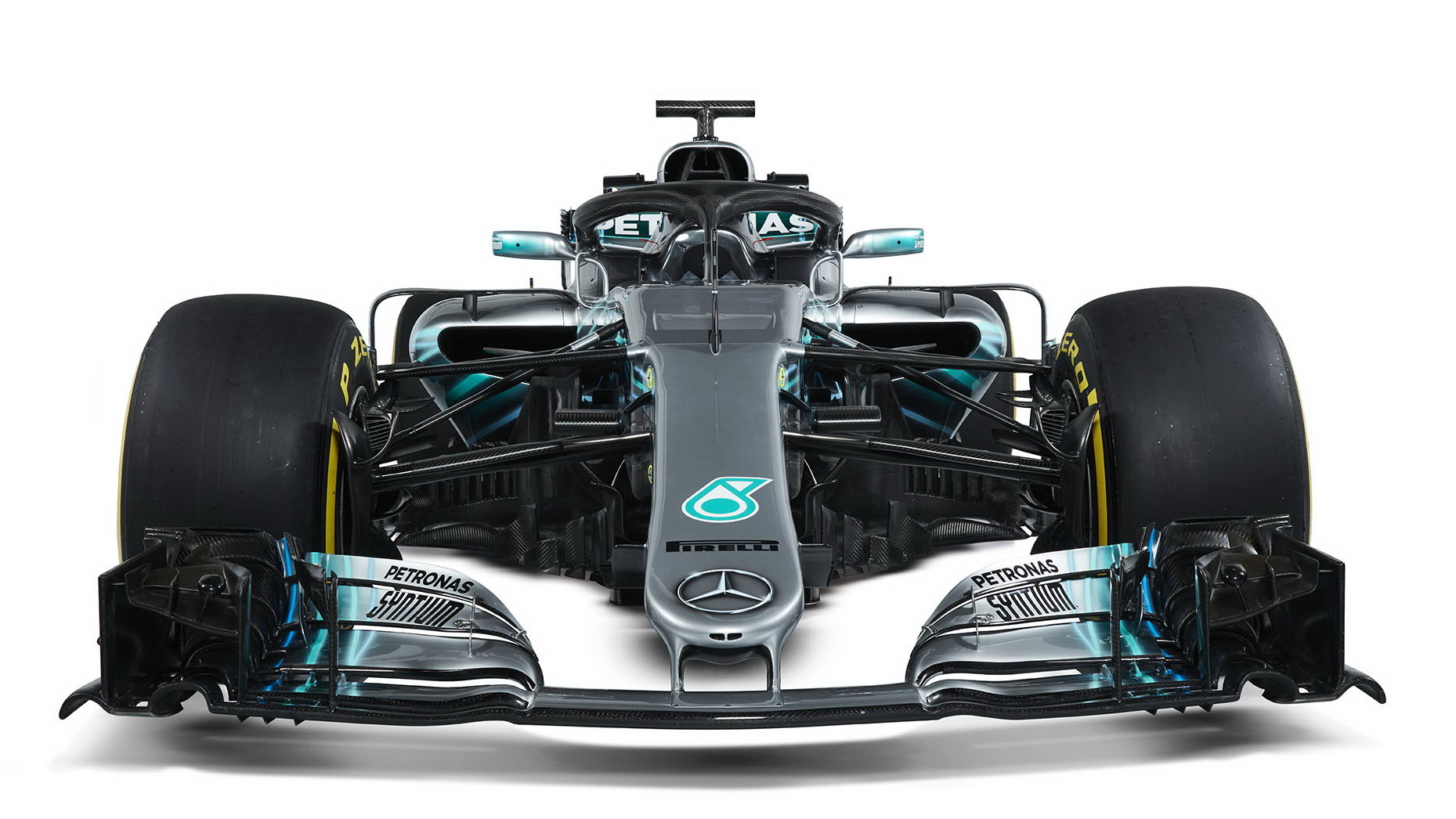 Představení nového vozu Mercedes F1 W09 EQ Power+ pro sezónu 2018