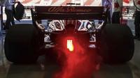 Sauber C37 poprvé na trati