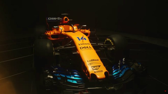 McLaren nový vůz ukáže 14. února 2019