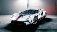 Ford GT v závodních barvách Martini dostal exkluzivní kola Vossen (zdroj: Vossen Wheels)