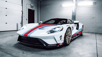 Ford GT v závodních barvách Martini dostal exkluzivní kola Vossen (zdroj: Vossen Wheels)