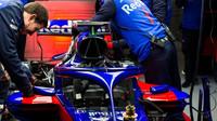 Toro Rosso a jeho první předsezonní testy v Barceloně