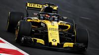 Carlos Sainz při prvních předsezonních testech v Barceloně