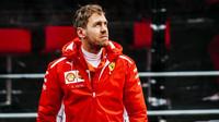 Sebastian Vettel při prvních předsezonních testech v Barceloně