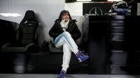 Valtteri Bottas při prvních předsezonních testech v Barceloně