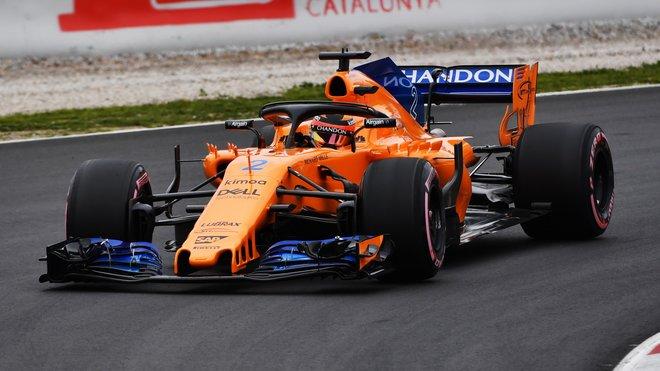 McLarenu se čtvrtý den v Barceloně konečně daří