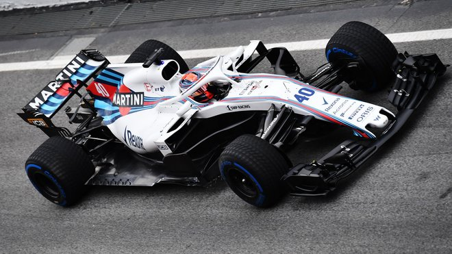 Robert Kubica při prvních předsezonních testech v Barceloně
