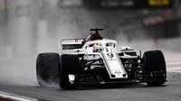Charles Leclerc za nepohody při testech v Barceloně