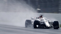 Marcus Ericsson poslední den prvních předsezonních testů v Barceloně