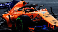 Stoffel Vandoorne s McLarenem MCL33