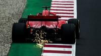 Sebastian Vettel poslední den prvních předsezonních testů v Barceloně