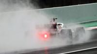 Charles Leclerc poslední den prvních předsezonních testů v Barceloně