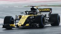 Nico Hülkenberg poslední den prvních předsezonních testů v Barceloně