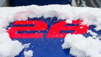 Třetí den předsezonních testů zaskočil všechny, sníh zasypal okruh v Barceloně