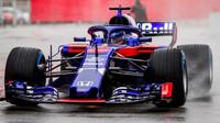 Brendon Hartley za nepohody při testech v Barceloně