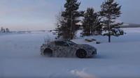 Snímky z testování nové generace Toyoty Supra
